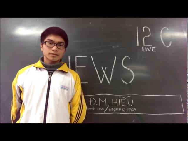 Dự thi tập thể ATGT-Trường THPT Chu Văn An