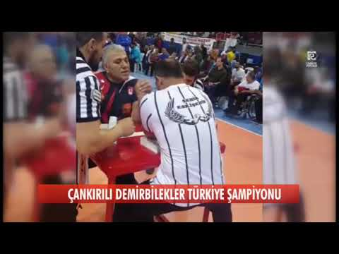 Türkiye Bilek Güreşi Şampiyonası final karşılaşması