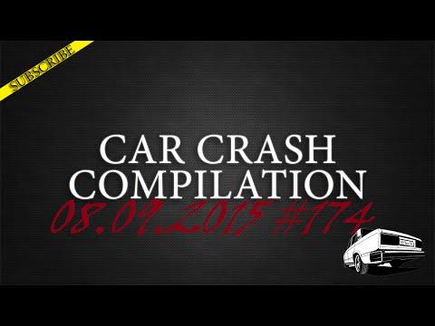 Car crash compilation #174 | Подборка аварий 08.09.2015