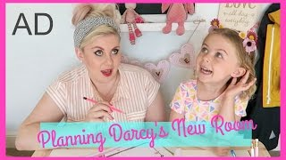 Planning Darcy's New Bedroom by Sprinkle of Glitter