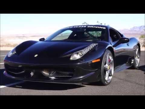 Driving a Porsche, Ferrari and Lamborghini in Las Vegas