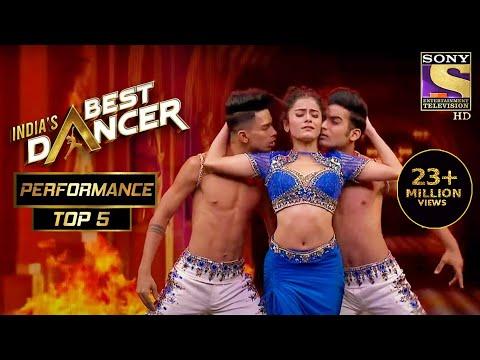 Shwetha ने अपने Extraordinary Dance से किया सब को Mesmerized! | India's Best Dancer | Best Of Top 5