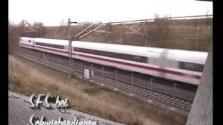 Das schnelle Video- 103, 120 und ICE auf der SFS unterwegs und mehr