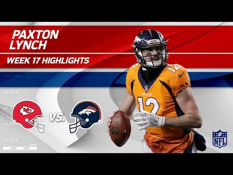 Video: Paxton Lynch Highlights | Chiefs vs. Broncos | Wk 17 Player Highlights