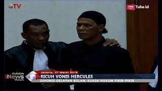 Video Sidang Vonis Hercules Rosario Ricuh Akibat Terdakwa Menolak Diliput Wartawan - BIM 27/03 MP3, 3GP, MP4, WEBM, AVI, FLV April 2019