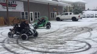 2. Mudhead 208R in the snow