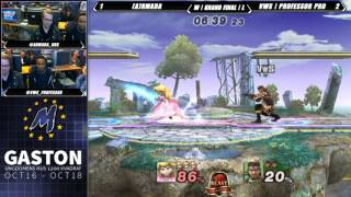 Armada's beam sword game vs. Professor Pro – Gaston GF