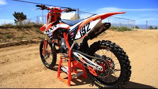 4. 2015 KTM 250 SX 2 stroke project bike- Motocross Action 2 Stroke builds