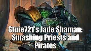 Back on Wild mode. N'Zoth Jade Shaman! This particular deck does not use Lightning Bolt, Maelstrom Portal or the Jade Chieftan. Some crazy highlights: 18:28 ...