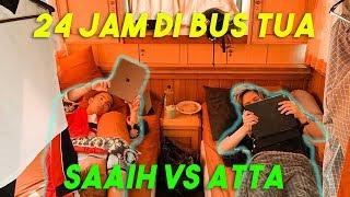 Video 24 JAM NGINEP DI BUS TUA! ATTA Sekamar SAAIH Berdua! MP3, 3GP, MP4, WEBM, AVI, FLV Agustus 2019