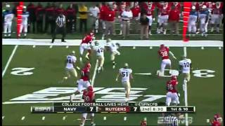 Mohamed Sanu vs Navy 2011