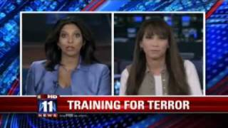 FBI, Local Police Training In L.A. -- Nuclear Device Terror Drill   Homeland Security News.flv