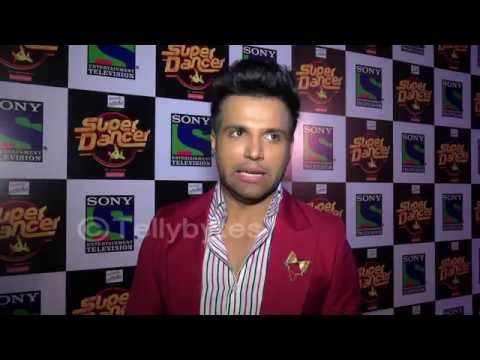 Rithvik Dhanjani talks about hosting Super Dancer.