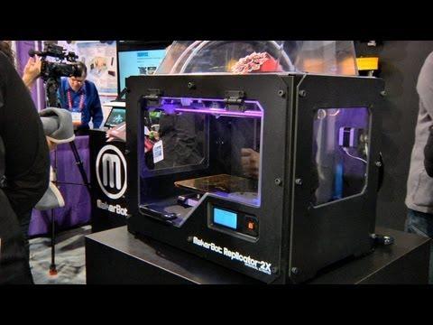 CES 2013: MakerBot Industries Replicator 2X 3D Printer
