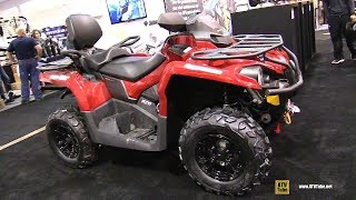 4. 2019 Can Am Outlander Max 570 Recreational ATV - Walkaround - 2018 Toronto ATV Show