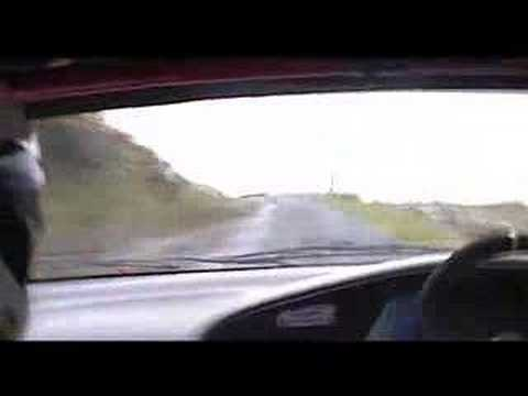 Mull - In Car Footage with John Paterson/ Paul MacFadyen on the daylight Gribun stage of 2007's Tour of Mull Rally.