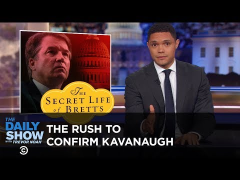 GOP Pushes SCOTUS Vote Despite Sexual Misconduct Allegations Against Kavanaugh | The Daily Show