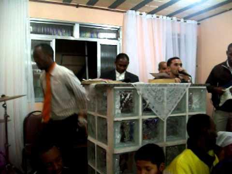 Pastor Marlon no Pão e comunhão