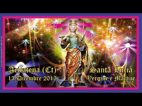 ACICATENA (Ct) - SANTA LUCIA V.M. 2015 - A. BRUSCELLA e PIROGIOCHI CHIARAPPA