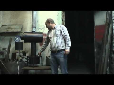 Печь печь на отработанном масле mpg