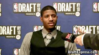 Paul George - 2010 NBA Draft Media Day - DraftExpress