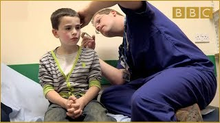 More about this programme: http://www.bbc.co.uk/programmes/b011fhgk A Northampton boy heads to A&E with his gran after confessing to have snapped a pencil...