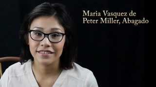 Maria Vasquez for Peter Miller, Abagado