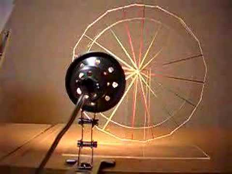 Rubberband Heat Engine made with acrylic glass
