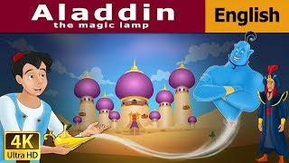 Video Aladdin and the Magic Lamp in English | Story | English Fairy Tales MP3, 3GP, MP4, WEBM, AVI, FLV Juni 2019
