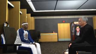 NBA 2K12 My Player - Pre Draft Interviews & Draft with David Stern