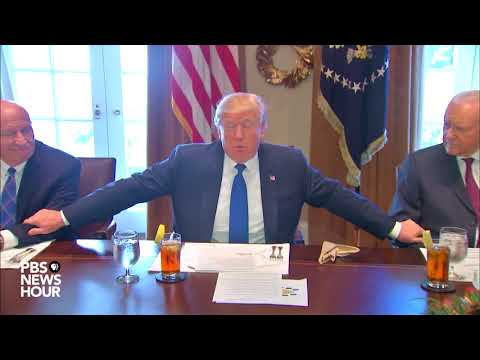 WATCH: President Trump makes remarks ahead of meeting with tax bill conferees