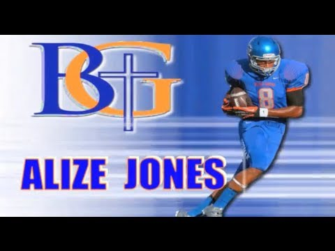 gorman - Alize Jones - Bishop Gorman (Vegas) Class of 2015 - Sophomore Year Highlights.