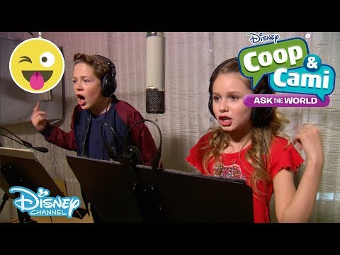 Coop and Cami | BTS - Making the Title Sequence| Disney Channel UK