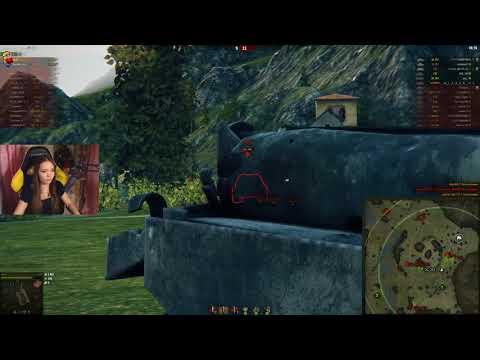 Мега тащунский бой от TR1SS на Т-54 (видео)