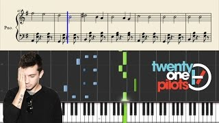 twenty one pilots - Isle Of Flightless Birds - Piano Tutorial + Sheets