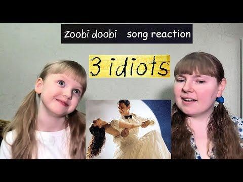 ZOOBI DOOBI Song Reaction With My Niece | 3 Idiots | Aamir Khan | Kareena Kapoor