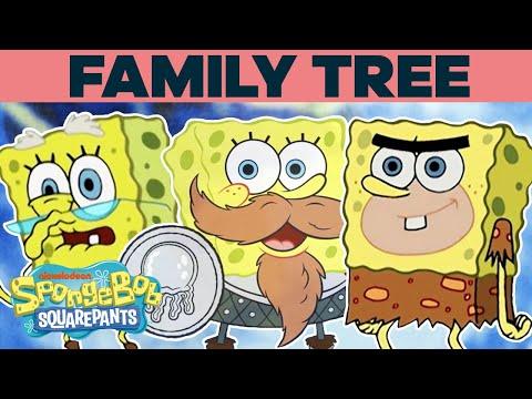 The SpongeBob SquarePants Family Tree 🌳 | SpongeBob