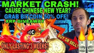 EVIDENCE THE MARKET WILL REBOUND BACK - CRYPTOCURRENCY MARKET CRASH - 3 WEEKS TIME LEFT?