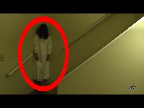REAL ghost girl caught on video tape 2 (The Haunting)