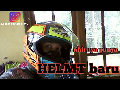 Helm baru ku (N J S ) helmt