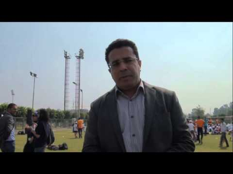 الدكتور باسل عادل مساعد أول وزير الرياضة بمهرجان Sports Patk