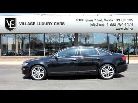 2009 Audi S6 – Village Luxury Cars Toronto