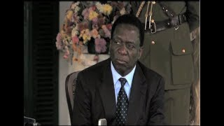 Video Emmerson Mnangagwa to be sworn in as Zimbabwe's President MP3, 3GP, MP4, WEBM, AVI, FLV November 2017