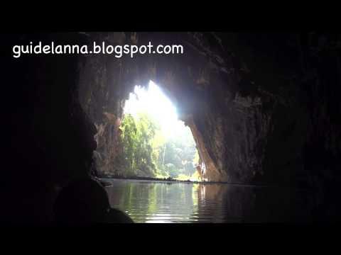 เที่ยวถ้ำน้ำลอด ปางมะผ้า แม่ฮ่องสอน Thum Num Lod Cave Mar Hong Son (видео)
