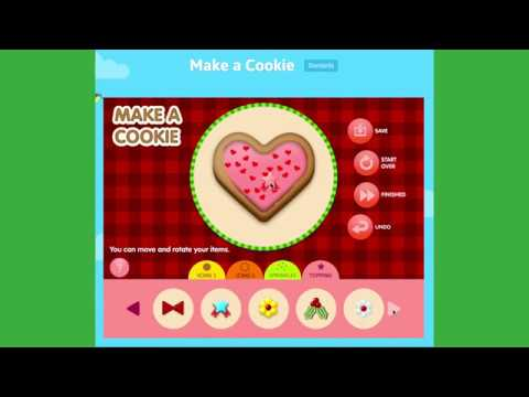 Make A Cookie Game | Let's Make Delicious Cookies// ABCya Game