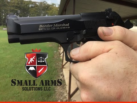 The Beretta .40 Cal Border Marshal
