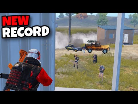MY NEW RECORD!!! | 5 SQUADS WIPES AND BEST RUSH GAMEPLAY | PUBG MOBILE