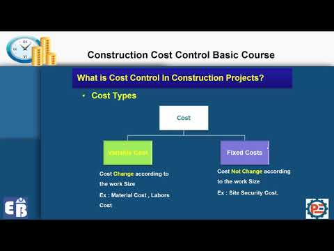 Lesson 1-1 Cost control course-What is Cost Control In Construction Projects