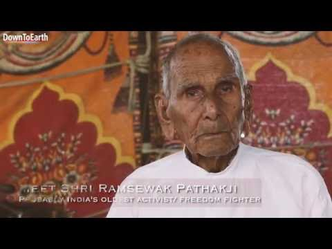 Meet Shri Ramsewak Pathak from Karahal Village in Madhya Pradesh. He is 105 years old and is still active for that age. He was a freedom fighter and then worked his entire life for equal rights for Sahariya Tribe of Madhya Pradesh. DTE travelled to Karahal to know from the man himself about the secrets of his