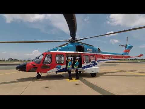 Trải nghiệm bay ngắm cảnh với trực thăng AW-189
